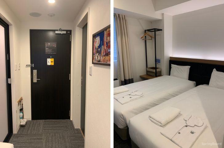 変なホテル 客室